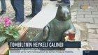 Kadıköy'ün Ünlü Kedisi Tombilinin Heykeli Çalındı