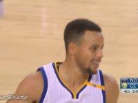 Stephen Curry'nin Bir Maçta En çok 3'lük Atma Rekorunu Kırması