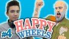 Adama Bir Vurdum Babaa :d - Happy Wheels - Bölüm 4