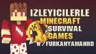 Minecraft : İzleyicilerle Survival Games