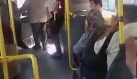 Otobüs Şoförüyle Vatandaşın Civciv Kavgası