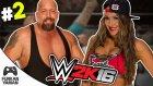 YOK BÖYLE ŞANS!! - (WWE 2K16 Kariyer) #2
