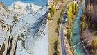 Ülkemizin Güzelliği! İki Mevsim Arası 50 Kilometre