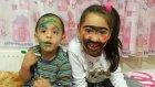 Melike Ve Eren Komik Yüz Makyajı Yapıyor | Yüz Boyama Videosu