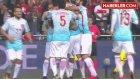 Hasan Ali ile Volkan Şen, Gol Sevincinde Kafa Kafaya Çarpıştı