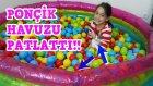 Kedimiz Ponçik Top Havuzunu Patlattı | Komik Kedi Videosu