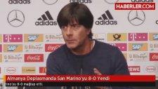 Almanya Deplasmanda San Marino'yu 80 Yendi