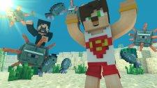 Elmas - Demir ! Minecraft Su Altı Survival #2 Minecraft Evi