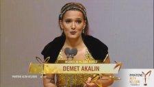 Müzikte 20. Yıl Özel Ödülü - Demet Akalın (43. Pantene Altın Kelebek Ödülleri - 13 Kasım 2016)