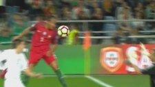Bruno Alves'in Litvanya'ya attığı gol