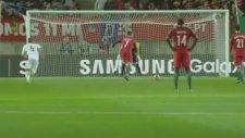 Cristiano Ronaldo'nun Litvanya'ya penaltıdan attığı gol