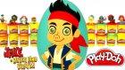 Jake ve Varolmayan Ülkenin Korsanları Sürpriz Yumurta Oyun Hamuru - Kaptan Jake Oyuncakları