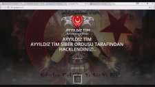 Ayyıldız Tim İnternational Force Sunar... İsrail HACKED!