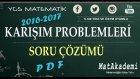 Karışım Problemleri Soru Çözümü - 2016/2017