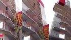 9 Katlı Binayı 30 Saniyede Tırmanan İspanyol İtfaiyeci