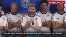 Arjantinli Futbolcular Basını Boykot Etme Kararı Aldı: Artık Konuşmayacağız