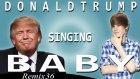 Donald Trump'a Justin Bieber'ın Baby Şarkısını Söylettiler