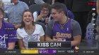 Kiss Cam'de Komik Durumu Düşen Lakers Taraftarı