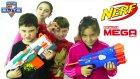Nerf Kapışması Kızlar Vs Erkekler Challenge Oyuncak Abi
