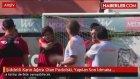 Şiddetli Karın Ağrısı Olan Podolski, Yapılan Son İdmana Katılmadı