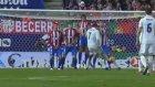 Cristiano Ronaldo'nun Atletico Madrid'e attığı muhteşem frikik golü