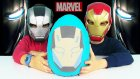 War Machine Dev Sürpriz Yumurta Açma Marvel Oyuncakları