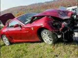 süper arabaların kazaları