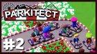 Go Kart Pisti Yaptım - Parkitect Türkçe Lunapark - S2 Bölüm 2