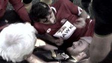 Kolu Kırılan Futbolcuyu Teskin  Etme Yöntemi