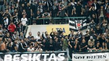 Beşiktaş'tan bir dakikalık sessiz tezahürat
