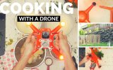 Drone ile Yemek Pişirmek