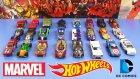 Hot Wheels Süper Kahraman Oyuncak Arabaları
