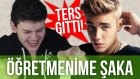 Öğretmenime Şarkı Sözü Şakası (Biraz Ters Gitti!) // Justin Bieber - Cold Water