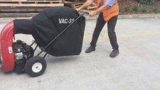 VAC35 Yaprak ve Kaba Pislik Toplama Makinası