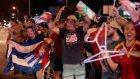 Fidel Castro'nun Ölümünü Kutlayan Kübalılar