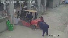 Forklift Kazası Ölümlü Kazası