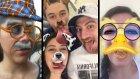 Snapchat Filtrelerini Denedik! Hiç Görmedikleriniz !