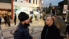 Ahsen Tv Muhabiri Kadıkoyde Meydan Okudu Kimse Ses Cıkaramadı