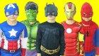 Super Kahraman Kostümleri Maske Koleksiyonumuz Oyuncak Abi