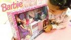 Dev Barbie Kuaför Ve Güzellik Salonu Seti İle Saç Tasarladık Ve Yıkadık