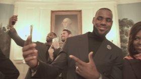 Lebron James Ve Cleveland'lı Oyunculardan Beyaz Saray'da Mannequin Challenge