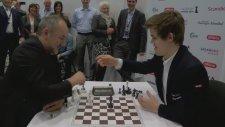 Magnus Carslen vs. Espen Agdestein - Blitz Maçı