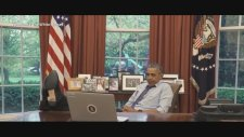 Barrack Obama'dan Komik Veda Videosu (2016)