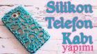 Silikon Telefon Kabı Yapımı | Hot Glue Gun Phone Case