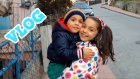 Annem Ve Ben Kardeşim Eren Ali yi Kreşten Aldık Parkta Oynadık