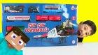Dev Oyuncak Tren Çuf Çuf Lokomotif - Kaçak Yolcu Steve