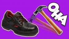 İnşaat Ayakkabıları Ne Kadar Dayanıklı? - Test Ettik