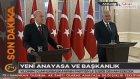 Başbakan Yıldırım'dan Yeni Anayasa Ve Başkanlık Sistemi Açıklaması