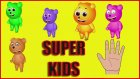 Gummy Bear Finger Family | Finger Family Jelly Bear Family | Gummy Bear Nursery Rhymes for Kids
