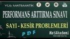 Performans Arttırma Sınavı (PAS)- Sayı Kesir Problemleri